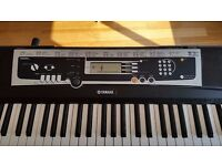 Yamaha YPT-210 Portable Keyboard with stand