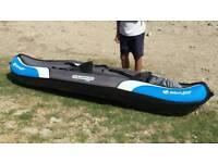 Sevylor Colorado PRO Model inflatable kayak 1 month old warranty
