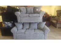 Brand new 2+3 seater sofas