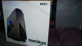 NZXT phantom 820 gaming super tower case