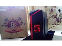 i5 GAMING PC Setup + Gaming LED Keyboard & Mouse for CSGO Counter strike Global Offensive CS:GO