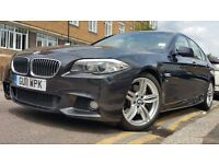 BMW 5 Series 3.0 530d M Sport 2011 Diesel 8-Speed Auto Gears 19 INCH ALLOYS WIDE SCREEN FSH £14,850