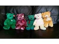 Beanie babies ty bears