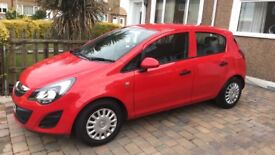Red corsa for sale