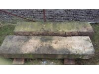 2 x Large Stone Cills/Heads/Lintels