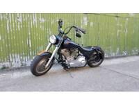 1993 Electraglide Sport 1340 Evo / Big Twin Harley Davidson - Satin Black / Matt Orange