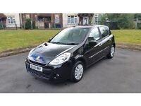 2009 renault clio 1.2 FSH-50K-5 DR-FULL MOT-VERY GOOD AND CLEAN CONDITION