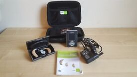 PHONAK Versata Art SP Hearing Aids Pr Left & Right Remote Control Excellent Condition