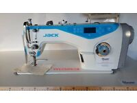 JACK A4 Direct Drive Needle Positioning Lockstitch Industrial Sewing Machine