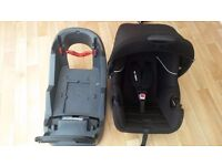 Mothercare baby car seat & Iso fix base