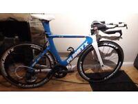 Planet X Exocet Excellent condition Sram Force Carbon Time trial triathlon