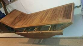 Solidwood single bed