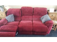 3 seater reclining sofa for sale
