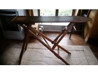 pine ironing board