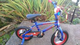 Kids 12'' Dragon bike-great condition