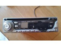 JVC KD-G411 CD/MP3 player with detachable face in good condition