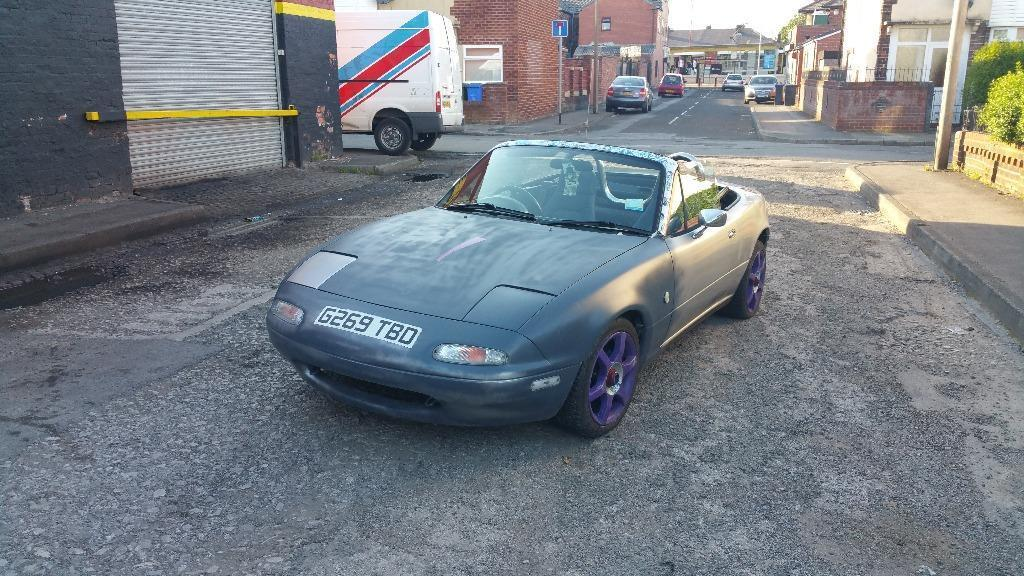 Save from scrap Unfinished project Mazda mx5 mk1 Eunos roadster jdm ...