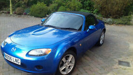 Mazda MX5 1.8 2006 59k New MOT