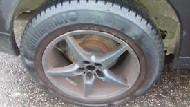 MERCEDES VITO 17INCH ALLOYS WITH TYRES