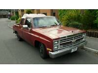 1986 Chevrolet C10 Double Cab Custom