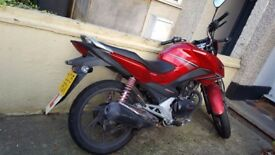 Honda CBF 125 for sale open to offers!