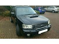 Subaru Forester XT 2.5L 2005 Black Manual