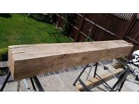 Solid oak beam