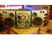 Philips 5 disc multimedia system