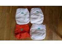 Brand new Tots & Bots Bamboozle reusable cloth nappies