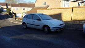 Ford Focus 1.6L, silver,