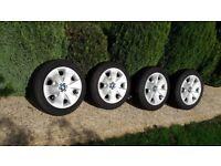 BMW 120D Winter Tyre Rim and Trim set of 4 BMW supplied Goodyear Ultragrip 195/55 R16 87H BMW Store