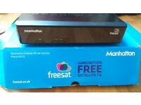 Manhattan Free Satellite TV decoder (Freesat - Freeview from satellite)