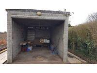 Garage pre cast concrete sectional garage