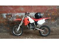 CR 85 very quick bike