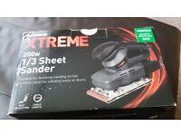 powerbase xtreme 200w 1/3 sheet Sander