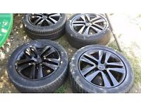 16 inch Vauxhall ASTRA VECTRA ZAFIRA ALLOYS WITH TYRES 5 STUD 5 × 110