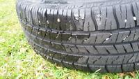 4 Goodyear winter tires (205/65/R15)