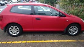 Honda Civic low mileage and good condition £1000 ONO