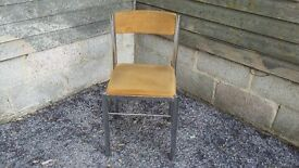 1 2 3 or 4 Vintage Upholstered Oak Chairs. £18 EACH LEWES COLLECTION