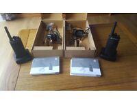 Motorola XTNi two way radio x 2