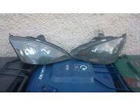 ford focus st 170 mk 1 headlights,£60 the pair