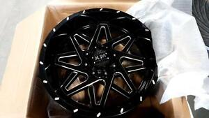 FULL SET 20X10 CUSTOM OFF ROAD RIMS $1190--FULL SET!!-BRAND NEW---TONS OF STYLES IN STOCK!!! FORD, CHEVY, GMC, DODGE!!