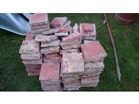 Reclaimed Clay quarry tiles