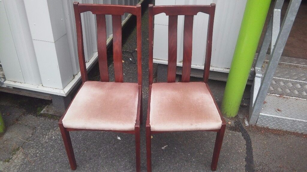 2 quality wooden chairs