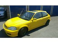 Honda civic Jordan ek4. Swap civic+merc s class for ek9/dc5