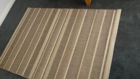 Grey Rug 120 x 170 cm