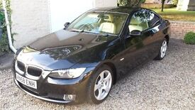 BMW 320d Coupe, AUTOMATIC,CREAM LEATHER, 2008 (58 reg)