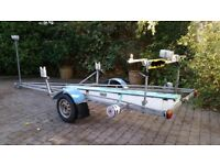 Basic A-Class Catamaran Road Trailer
