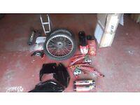 Honda crf 450 spares