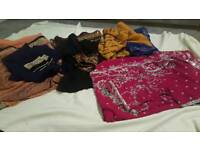 Asian sarees at £30 each